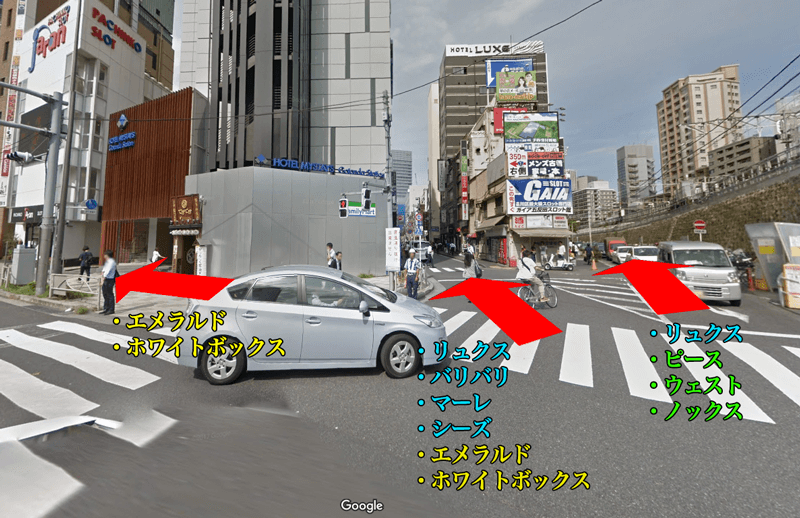五反田駅西口風景